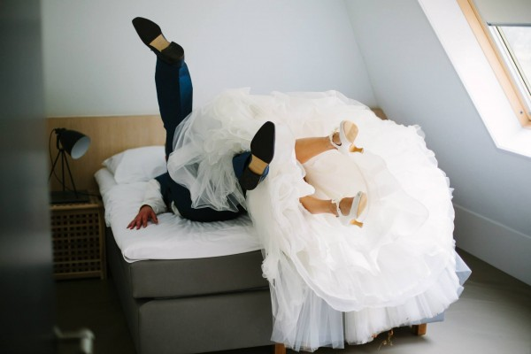 Bruidspaar Borghuis
